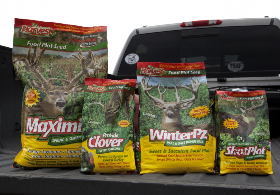 Shotem and Caughtem Tests Evolved Harvest Food Plot Seed