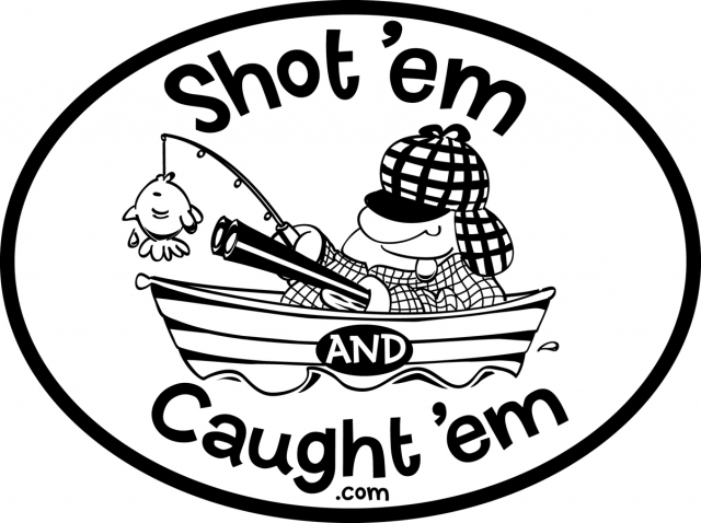 Shotem and Caughtem logo