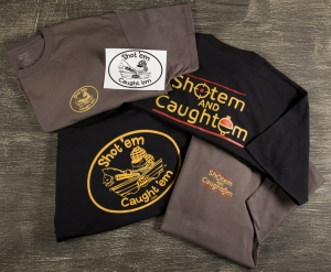 Shotem and Caughtem Merchandise